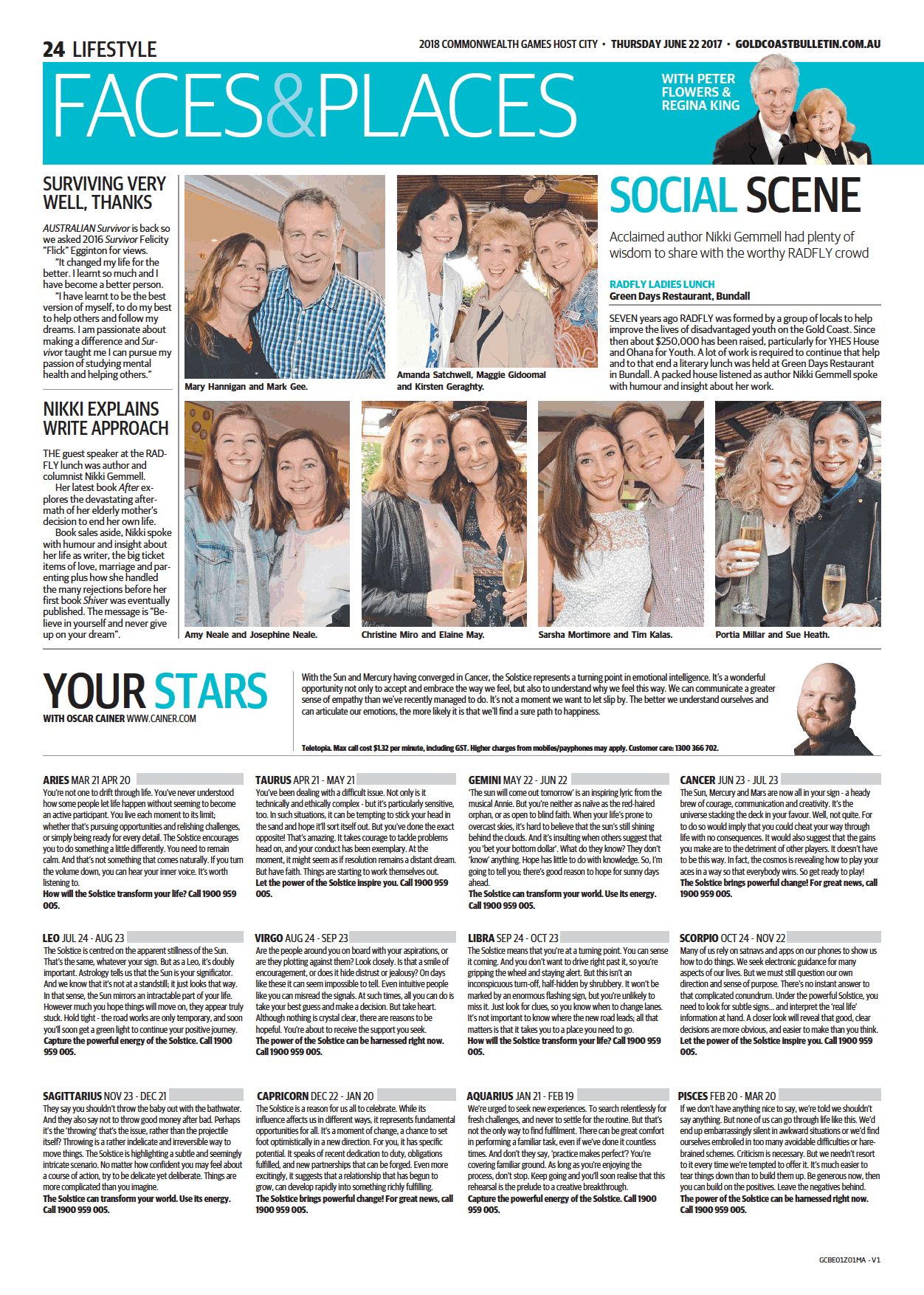 Gold Coast Bulletin - 22 June 17 - pg 1